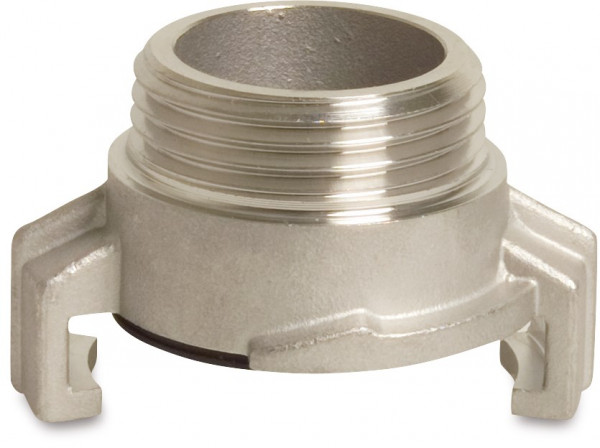 Threaded quick coupler, male