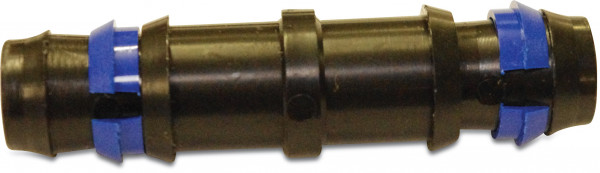 Straight connector, type safety
