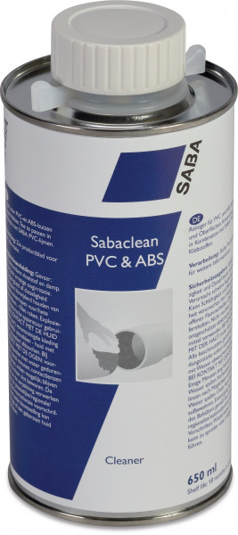 Saba Solvent cleaner, type Sabaclean PVC & ABS