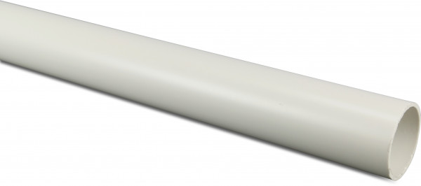 Pressure pipe, BS 12 bar, white, imperial