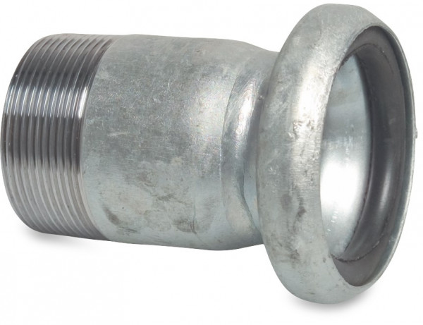 Female part with male thread, type S75