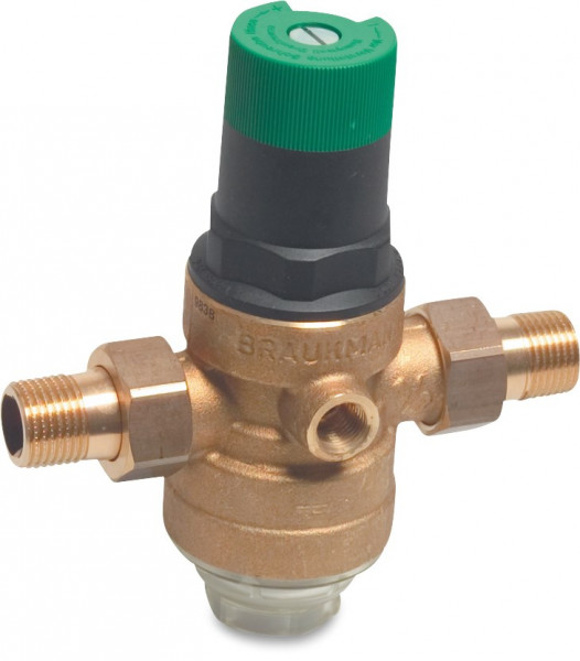 Honeywell Adjustable pressure reducing valve, type D06F