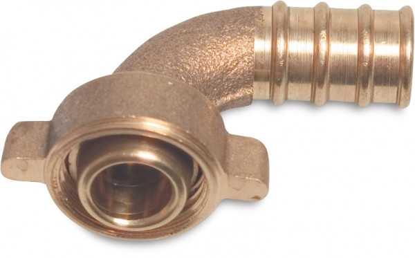 Elbow 90° union, 2/3, conical seal