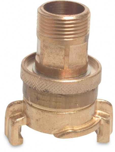 Suction and high pressure coupler