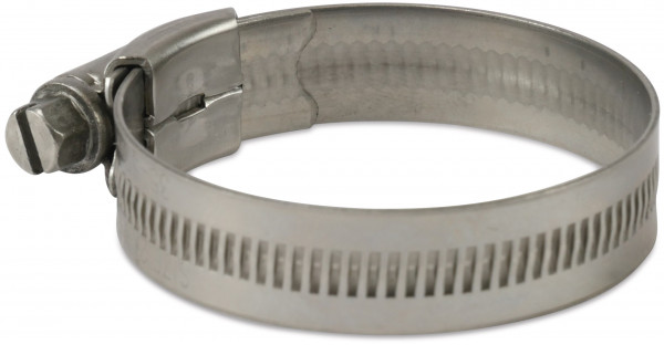 Industrial worm drive clamp