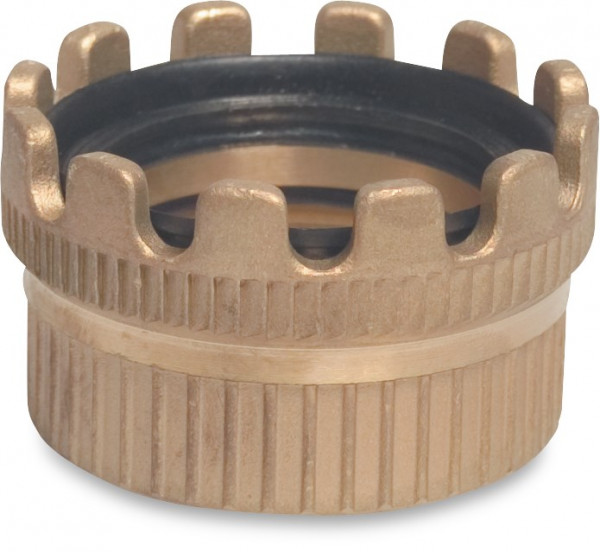 Tanker coupling connector (female) with female thread