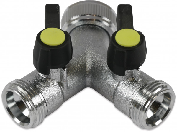 Hydro-S 3-way valve, type with 2 closing levers