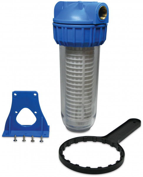 """Hydro-S Water Filter 10"""" with cartridge"""