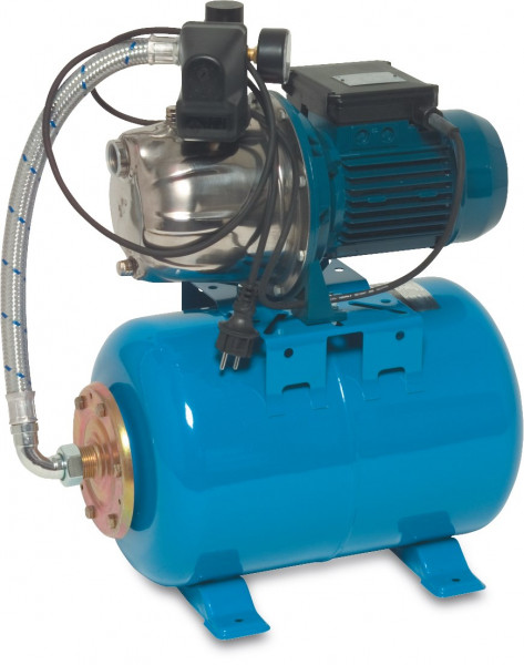 Foras pressure set with S/S pump