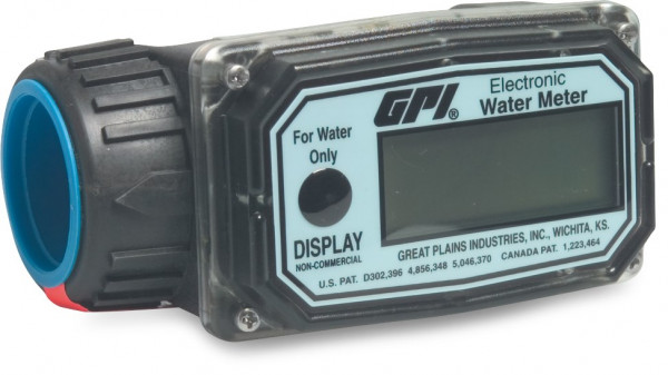 Electronic flow meter for water, type GPI W