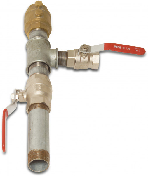 Pump connection set, type not mounted