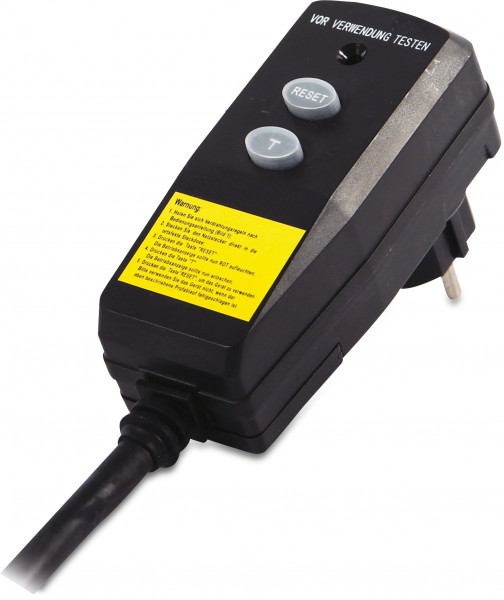 RCD protection 2 pin plug