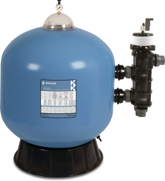 Pentair Triton II side mount sand filter with ClearPro Technology® and Pro Valve