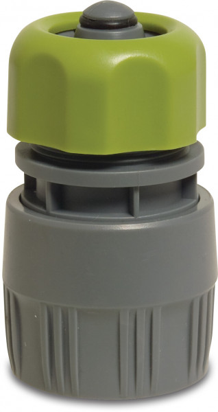 Hydro-Fit Click connector with water stop