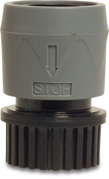 Hydro-Fit Click connector with waterstop