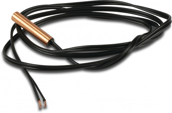 Temperature sensor with cable