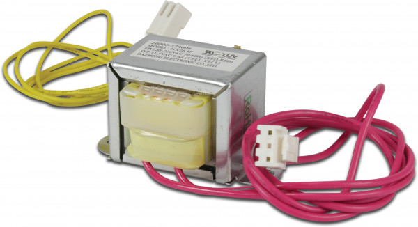 Transformer with yellow/red cable