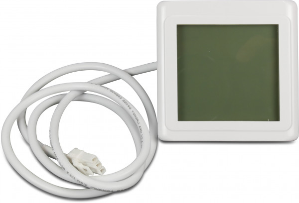 LCD display with cable white 20000-430038-35005-310156