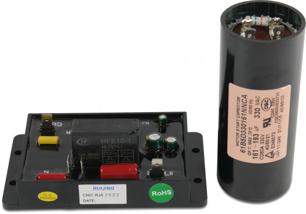 Soft starter TL-ASSU220P5 with start capacitor 161-193 uF