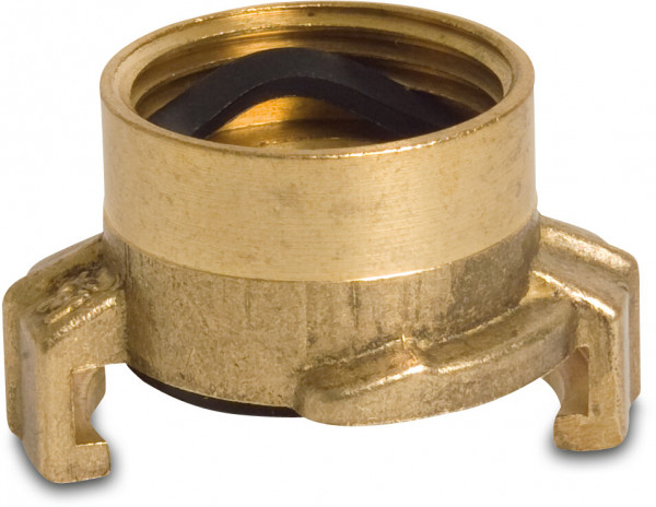 Quick coupler with female thread
