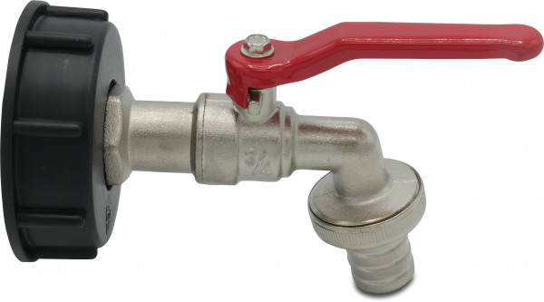 Mega Bib tap set for IBC tank